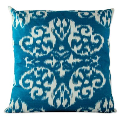 Anil Khandelwa Cotton Throw Pillow Cover