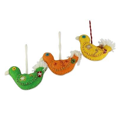 Fair Trade Bird Ornament 216834