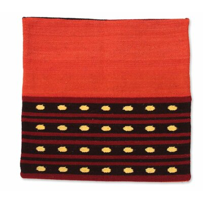 Zosimo Laura Artisan Crafted Geometric Throw Pillow Cover