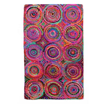 Sonik Sethi Chindi Hand-Tufted Area Rug Rug Size: 3 x 49