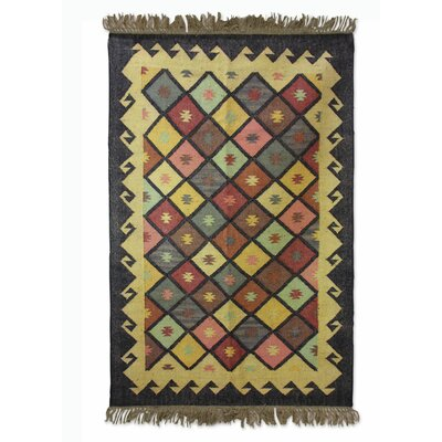 Sonik Sethi Hand-Woven Area Rug Rug Size: Rectangle 4 x 6