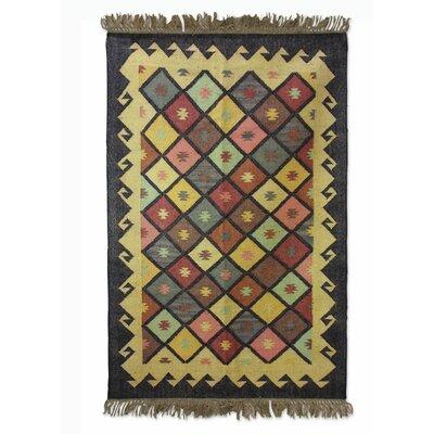 Sonik Sethi Hand-Woven Area Rug Rug Size: 4 x 6
