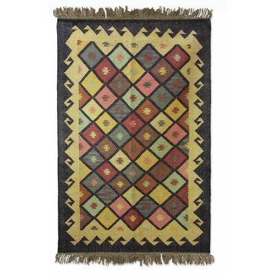 Sonik Sethi Hand-Woven Area Rug Rug Size: Rectangle 53 x 85