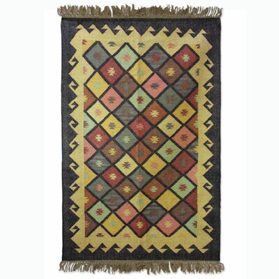 Sonik Sethi Hand-Woven Area Rug Rug Size: Rectangle 68 x 10