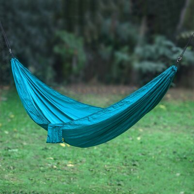 Uluwatu Nylon Camping Hammock Color: Teal