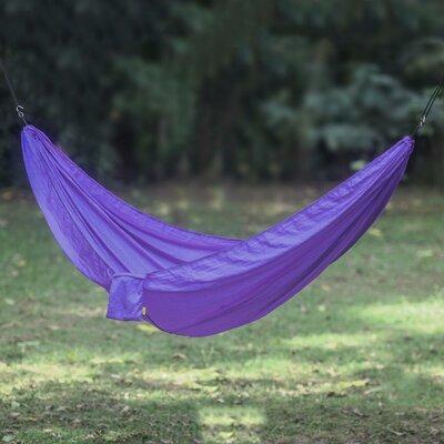 Uluwatu Nylon Camping Hammock Color: Purple