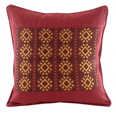 Maya Hand-Woven Cotton Throw Pillow Cover