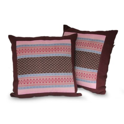 Bangkok Cotton Pillow Cover