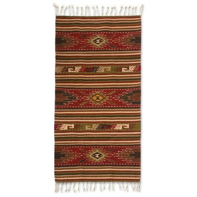 Weare Hand-Woven Area Rug