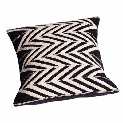 Vibrations Zigzag Motif Wool Pillow Cover