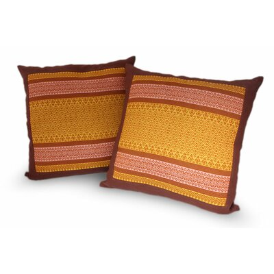 Thai Sunshine Cotton Pillow Cover