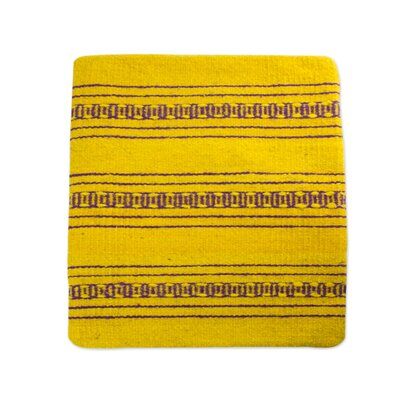 Zapotec Energy Hand Crafted Wool Pillow Cover