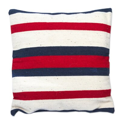 Symmetry Handwoven Wool Pillow Cover