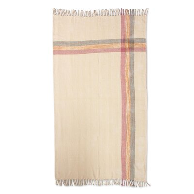 Sunset Breeze Cotton Throw