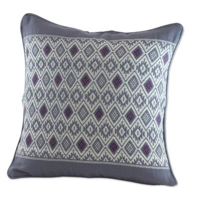 Moon Maya Loom Woven Cotton Pillow Cover