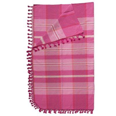 Sweet Awakening Hand Woven Zapotec 100% Cotton Full/Queen Bedspread