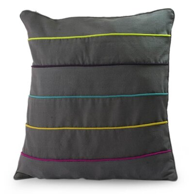 Urban Rainbow Cotton Pillow Cover