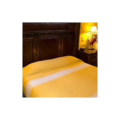 Sunny Fields Handmade Zapotec Cotton Bedspread