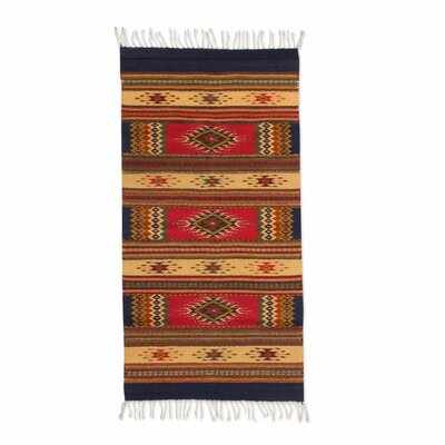 Hand Woven Brown Area Rug