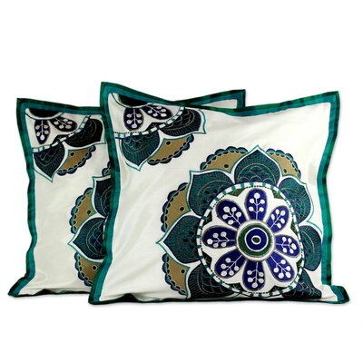 Bouquet Floral Patterned Handmade Pillow Cover