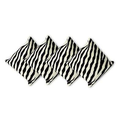 Zebra Wool Pillow Cover