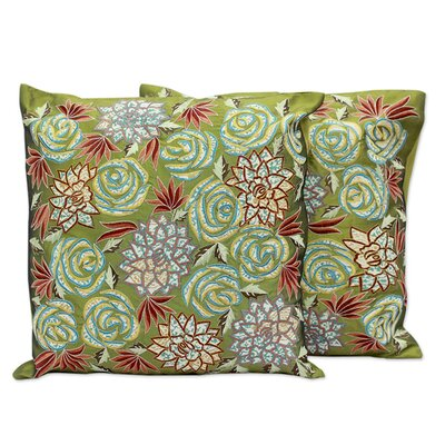 Rose Dazzle Pillow Cover