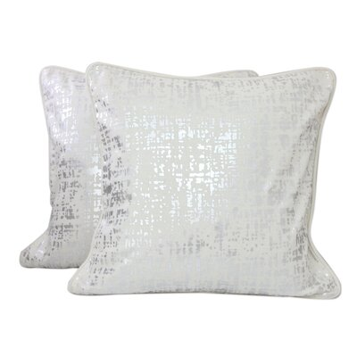 Shower Print Cotton Pillow Cover