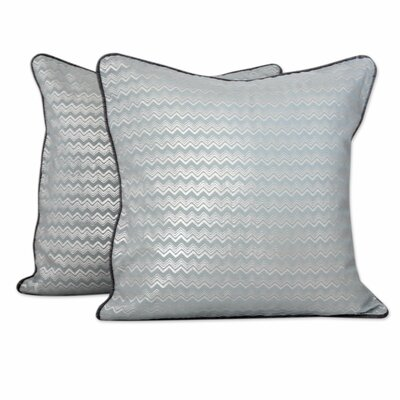 Echo Indian Pale Print Cotton Pillow Cover