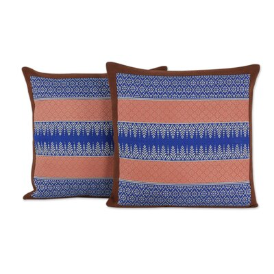Chiang Mai Allure Handwoven Brocade Cotton Pillow Cover