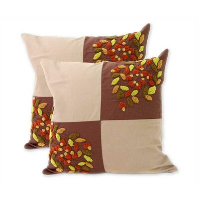 Denpasar Harmony Cotton Pillow Cover