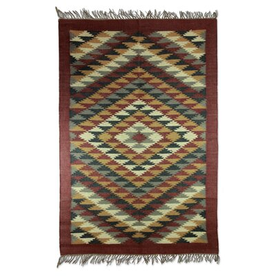 Hand Woven Gray/Brown Area Rug