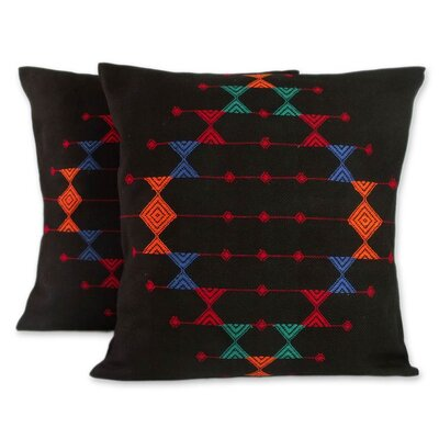 Festival Galaxy Cotton Pillow Cover