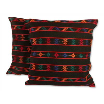 Desert Night Cotton Pillow Cover
