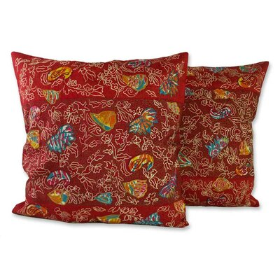 Butterfly Muse Pillow Cover