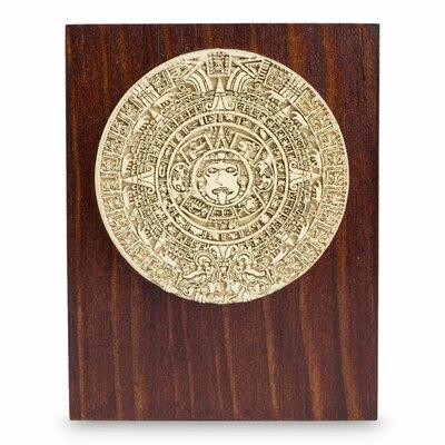 Decorative Mexica Sun Stone Aztec Calendar 223626