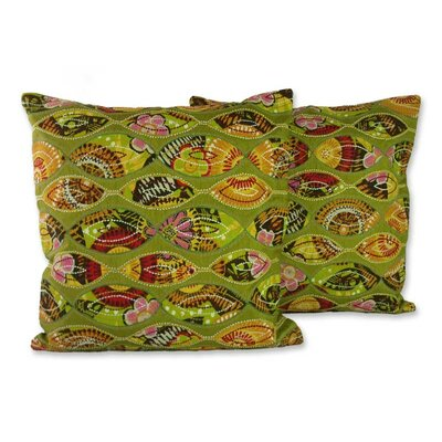 Meeting Eyes Handmade Patterned Pillow Cover