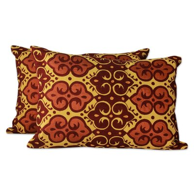 Mustard Field Embroidered Pillow Cover