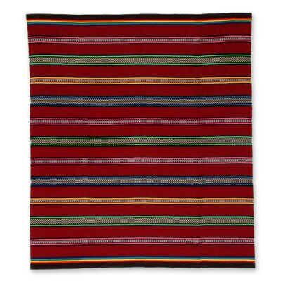 Junin Riches Unique Striped Throw Blanket