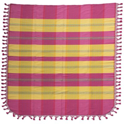 Sunset Hand Crafted Cotton Bedspread