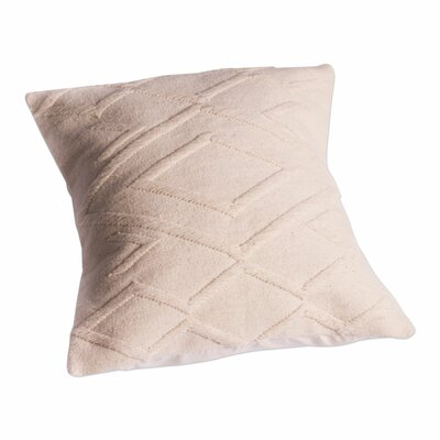 Diamond Motif Handwoven Wool Pillow Cover