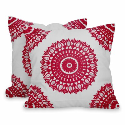 Mandalas Indian Square Cotton Pillow Cover