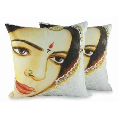 Rajasthan Belle Cotton Pillow Cover