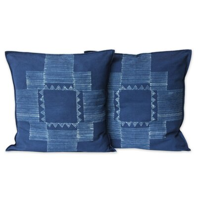 Hill Tribe Constellation Handmade Batik Cotton Pillow Cover