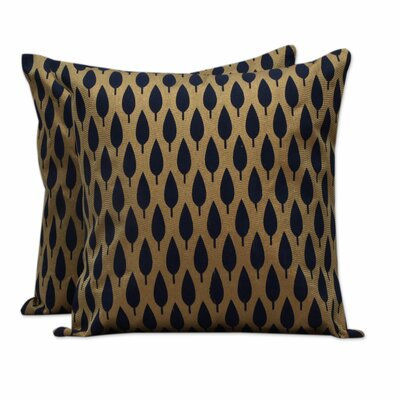 Forest Indian Block Printed Pillow Cover