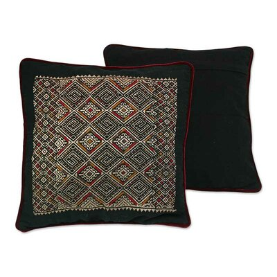 Night Stars Cotton Pillow Cover