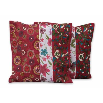 Garden of Love Pillow Cover