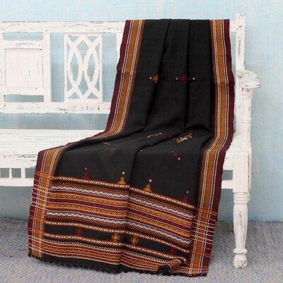 Vankar Parbat Throw Blanket