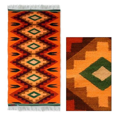 Zosimo Laura Orange Area Rug