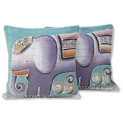 Pachyderm Hand Crafted Cotton Pillow Cover