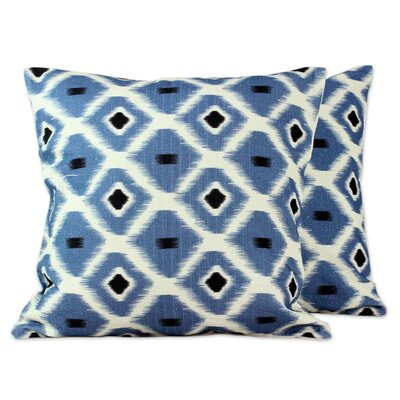 Anil Khandelwal India Cotton Print Throw Pillow Cover